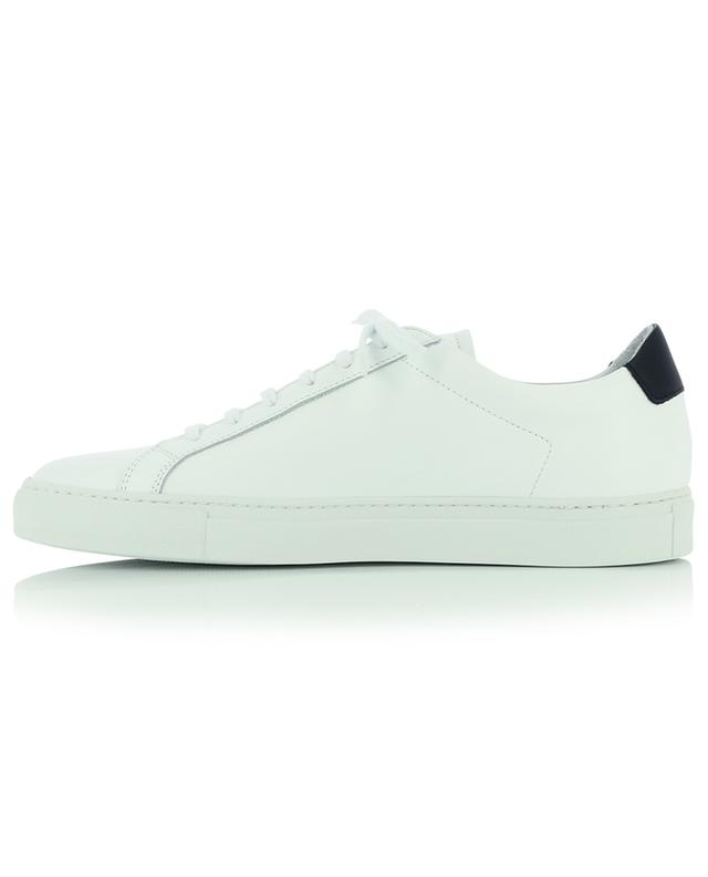 Retro Low lace-up sneakers in white and black leather COMMON PROJECTS