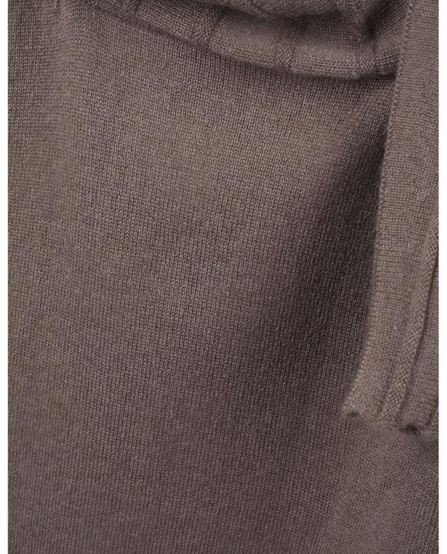 Robe pull courte en cachemire à manches bouffantes FABIANA FILIPPI