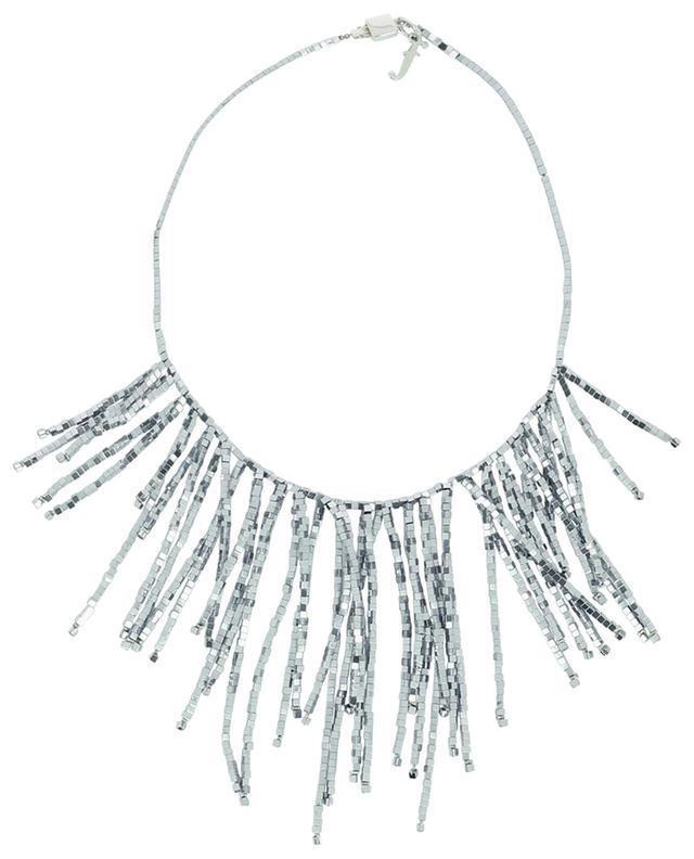 Collier à franges en perles cubiques Bia FABIANA FILIPPI
