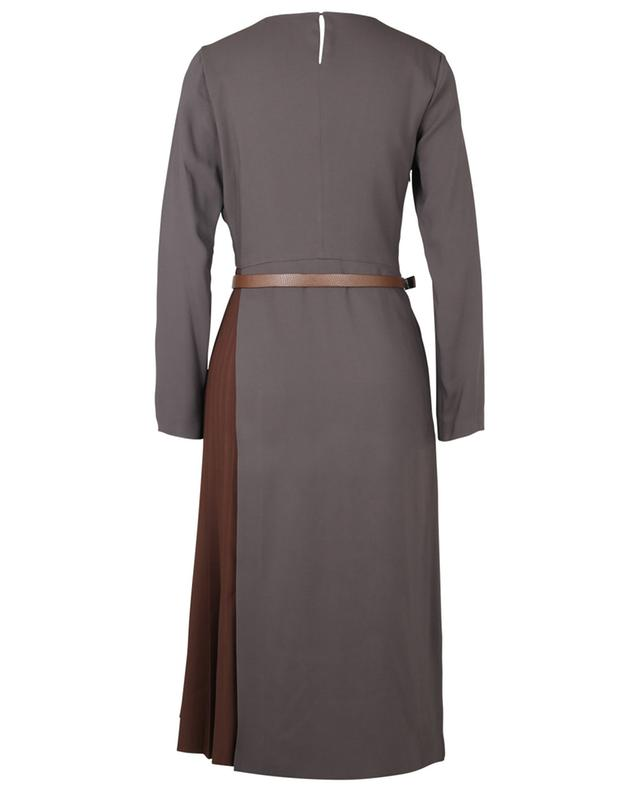 Robe à plis en viscose avec ceinture FABIANA FILIPPI