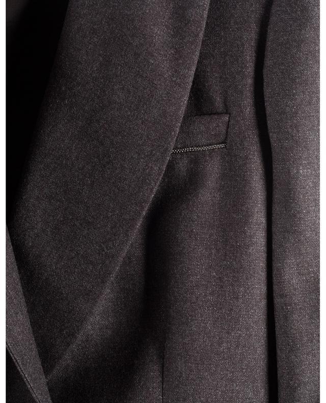 Blazer en laine vierge mélangée pailletée FABIANA FILIPPI