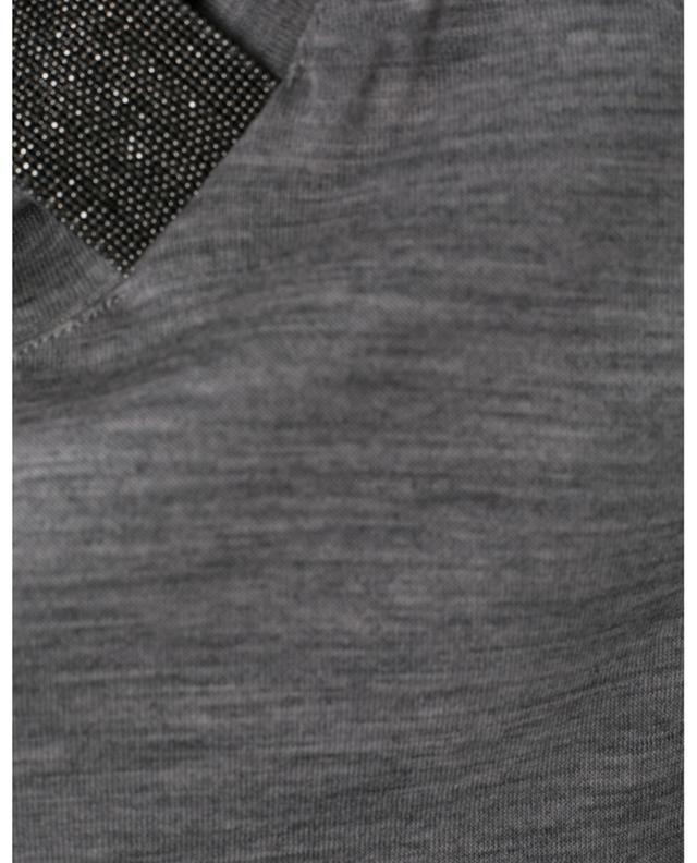Rollkragenpullover aus Merinowolle FABIANA FILIPPI