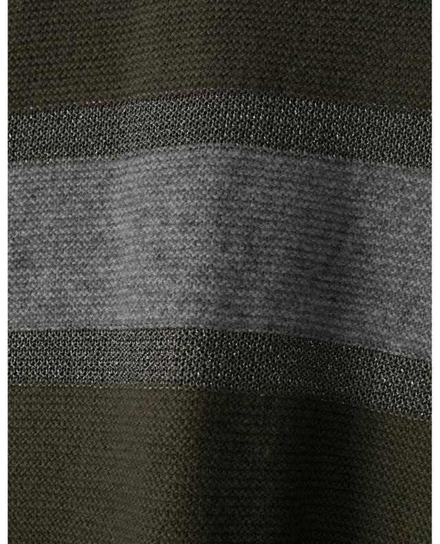 Cape à boutons en laine vierge et soie avec détails en lurex FABIANA FILIPPI