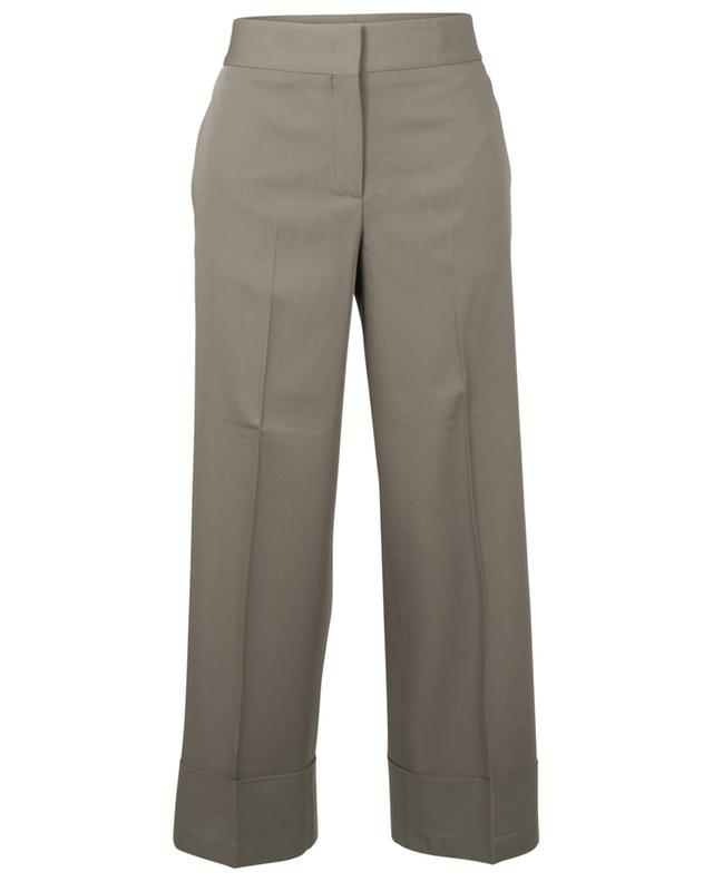 Pantalon raccourci en laine vierge FABIANA FILIPPI