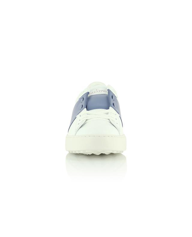 Sneakers aus Kalbsleder mit andersfarbigem Band Open VALENTINO