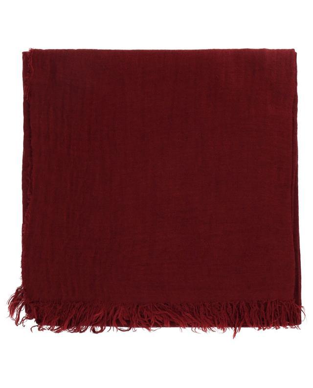 Fine écharpe unie en modal et laine vierge FABIANA FILIPPI