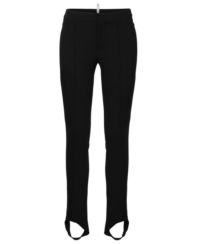 Pantalon skinny en sergé stretch a fuseau MONCLER