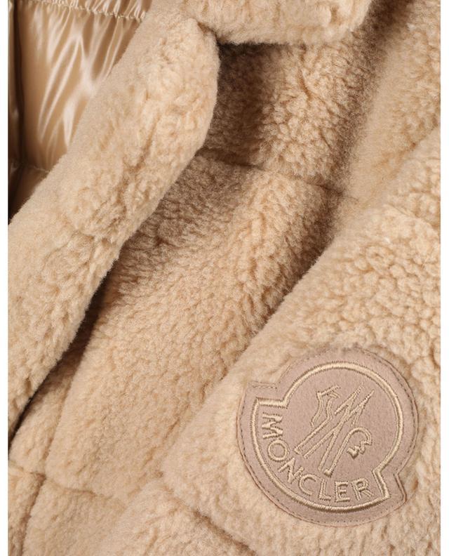 Doudone longue en fourrure synthétique Bagaud MONCLER