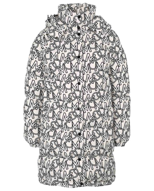 Gaou oversize logo print down jacket MONCLER
