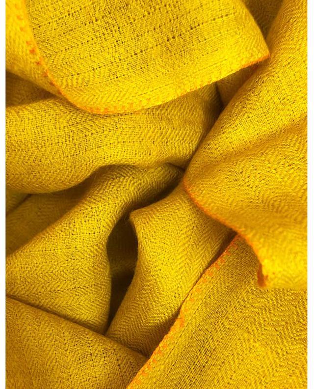Écharpe en cachemire Incredible Colors PINK MAHARANI