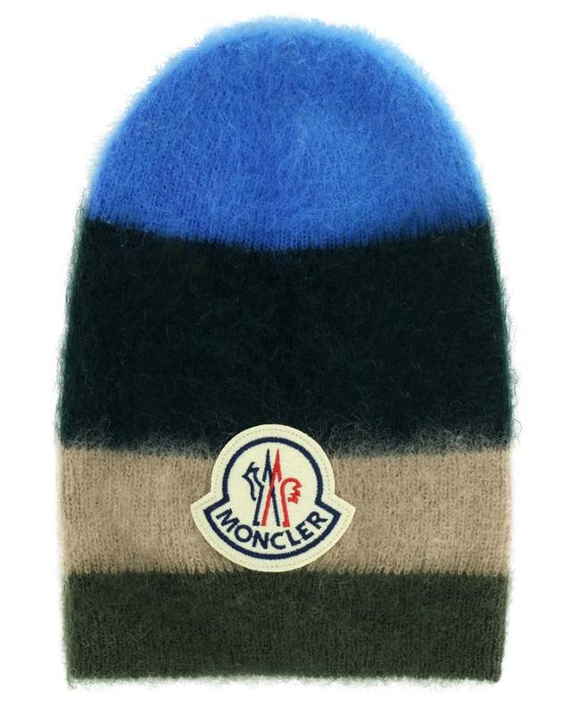 Bonnet long en mohair et laine mélangée MONCLER