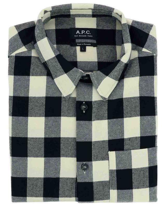 Kariertes Überhemd aus Baumwollmix John A.P.C.