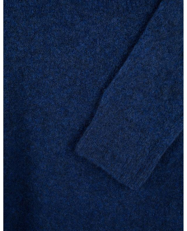 Long pull col rond en laine et yack mélangés A.P.C.