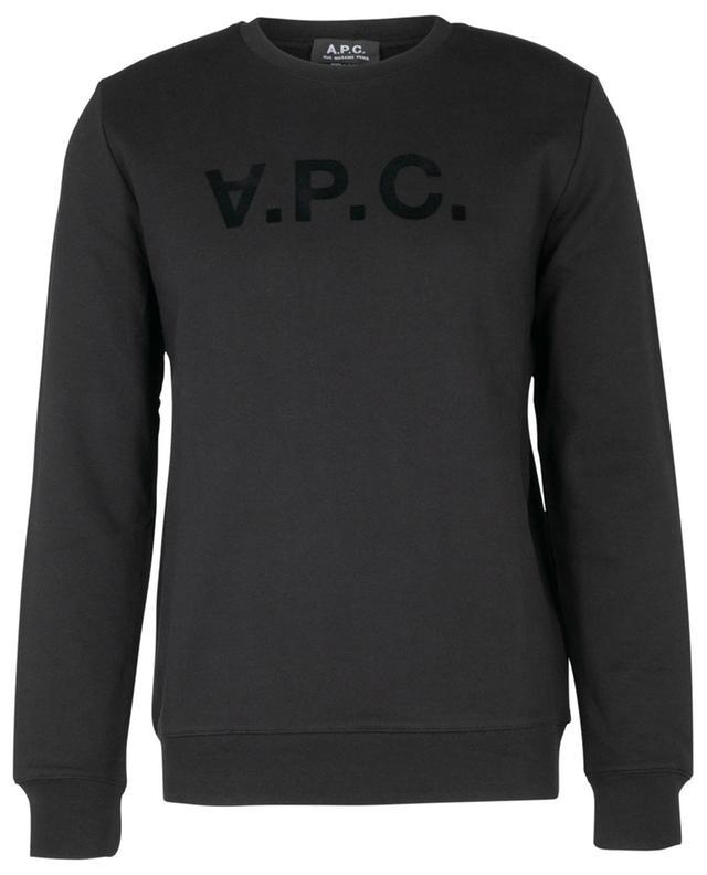 Rundhals-Sweatshirt mit Flockprint V.P.C. A.P.C.