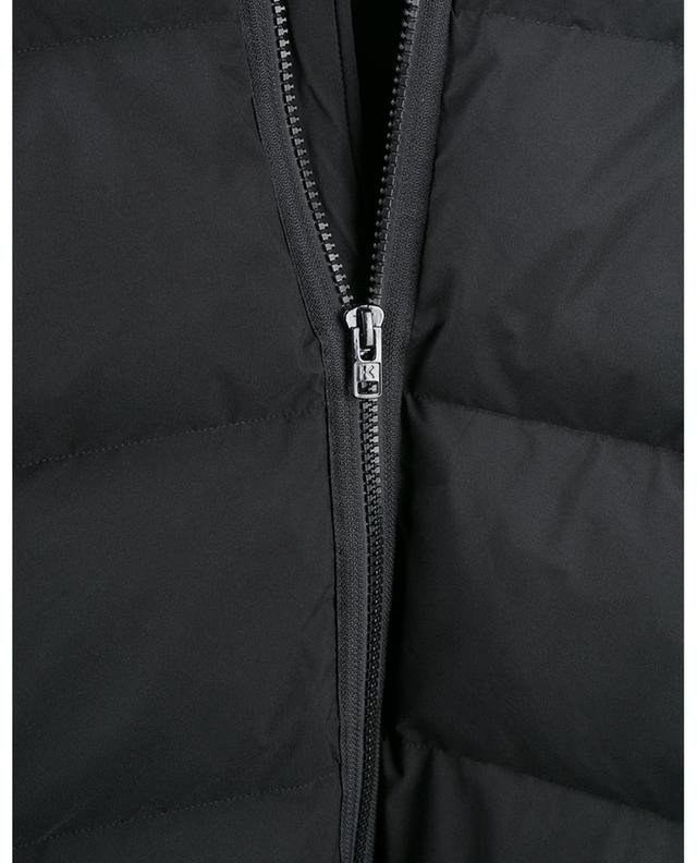 Tiger Patch short puffer jacket KENZO
