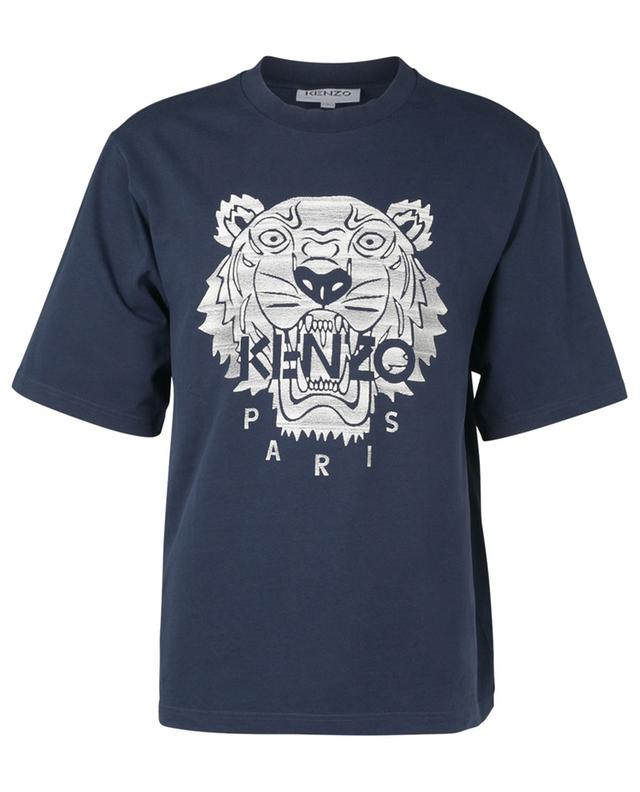 T-shirt oversize à manches courtes brodé Stitched Tiger KENZO