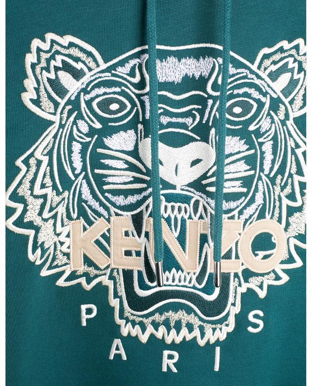 Sweat-shirt à capuche brodé Tiger KENZO