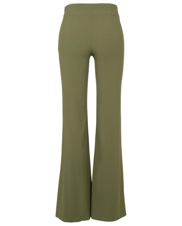 Pantalon évasé en crêpe - Olive GALVAN LONDON