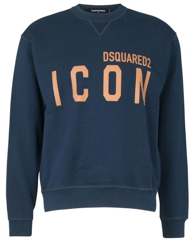 Rundhals-Sweatshirt mit Print ICON Cool Fit DSQUARED2