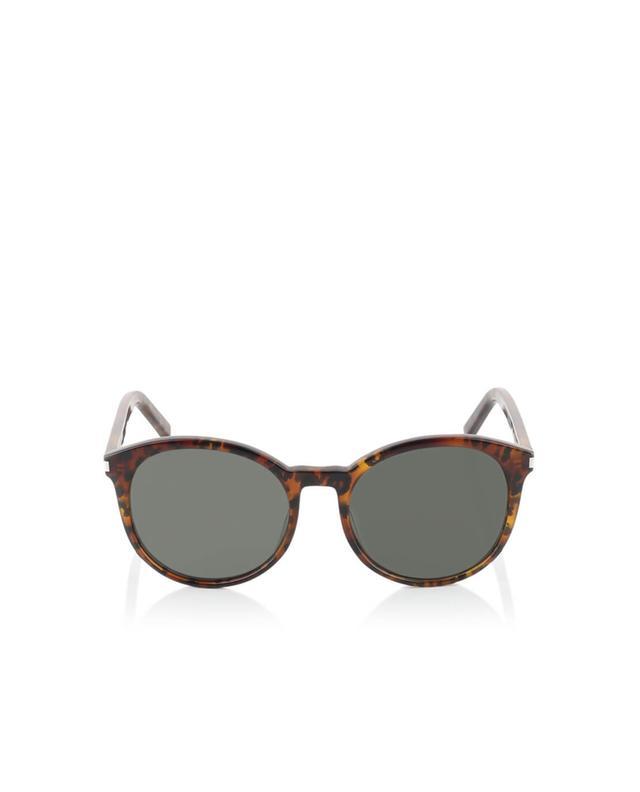 Saint laurent paris classic 6 mirrored lenses sunglasses indigo