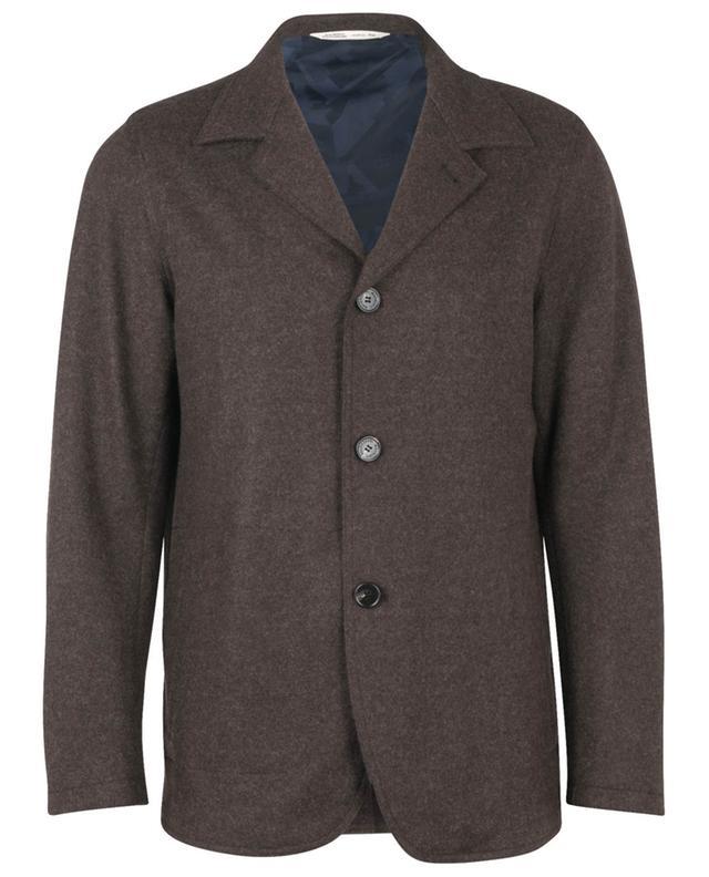 Veste en feutre à boutonnière simple Field Jacket MAURIZIO BALDASSARI