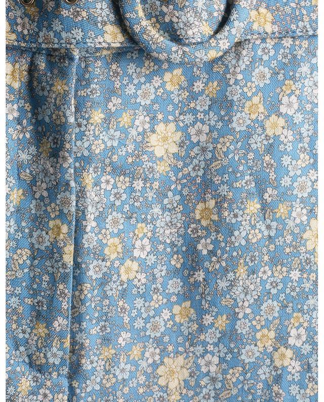 Pantalon en lin fleuri Carnaby ZIMMERMANN