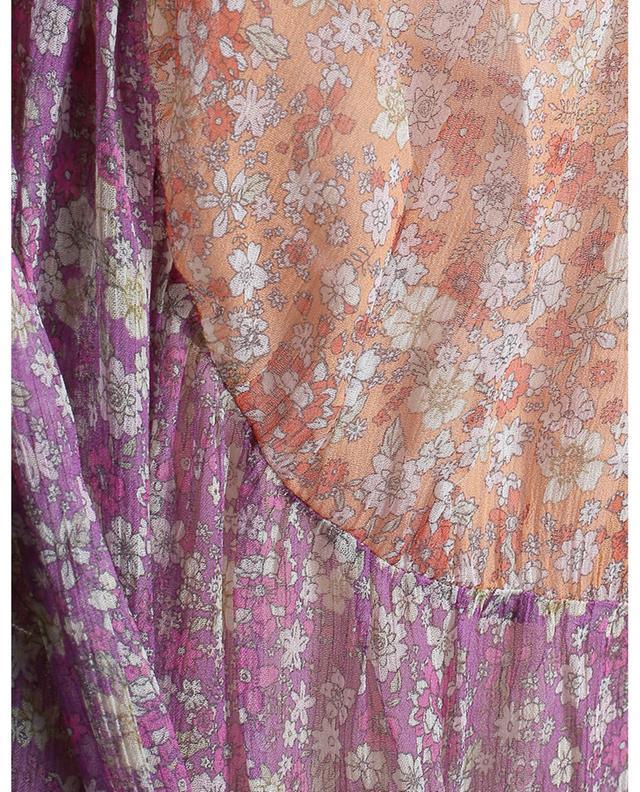 Robe asymétrique en soie Carnaby Frill Swing ZIMMERMANN