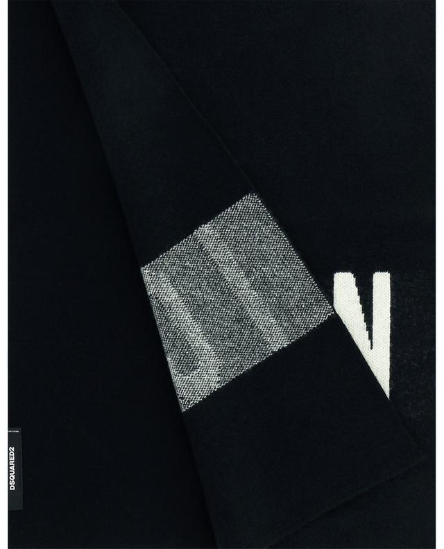 Écharpe en laine mélangée Icon DSQUARED2
