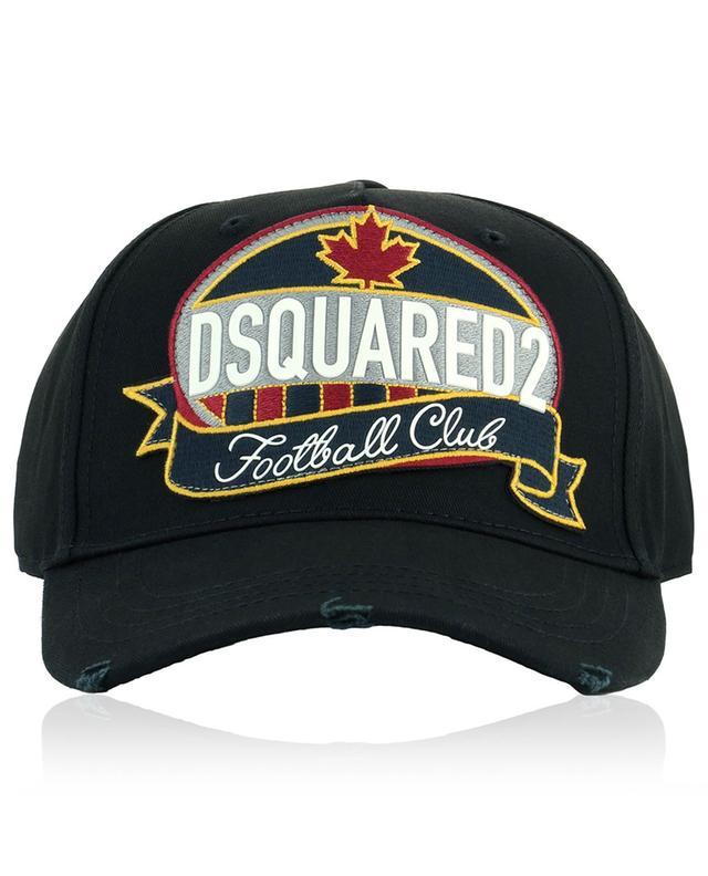 Casquette en coton avec patch logo DSQUARED2