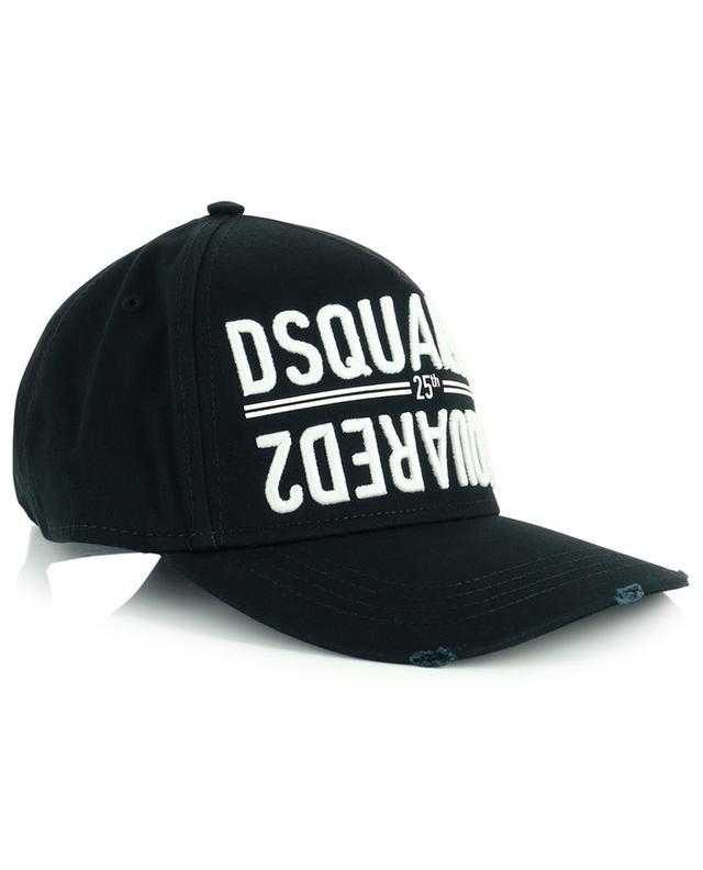 Casquette en coton avec logo DSQUARED2