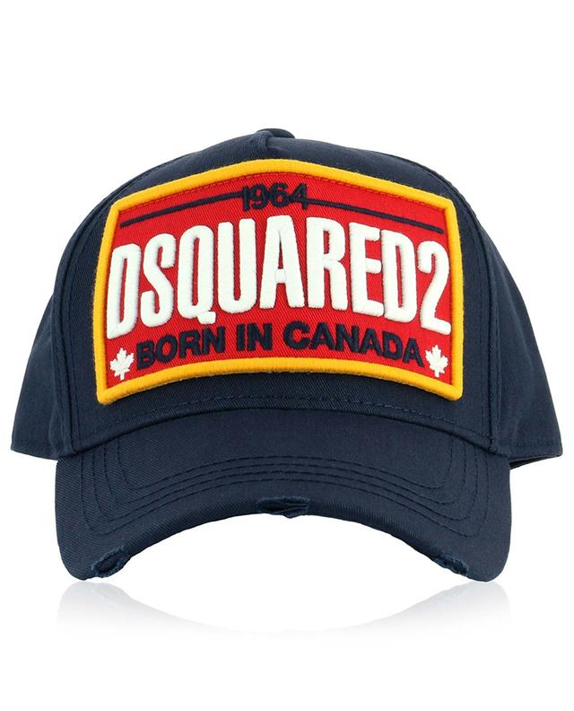 Casquette brodée Born in Canada DSQUARED2
