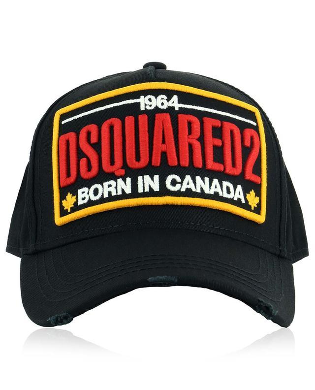 Casquette brodée Born in Canada DSQUARED2