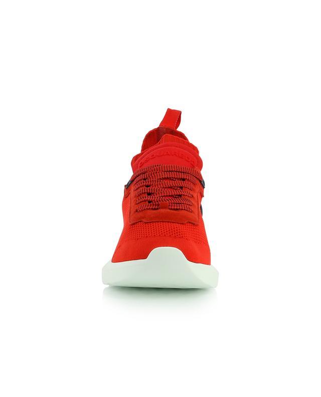 Baskets en maille texturée à lacets Speedster DSQUARED2