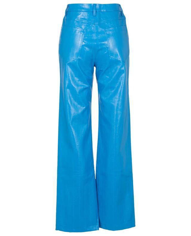 Pantalon large taille haute en cuir végan Rotie ROTATE BIRGER CHRISTENSEN