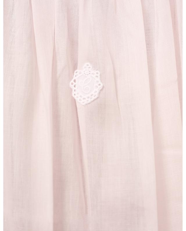 Chemise de nuit à manches bouffantes courtes Ariella-1 CELESTINE