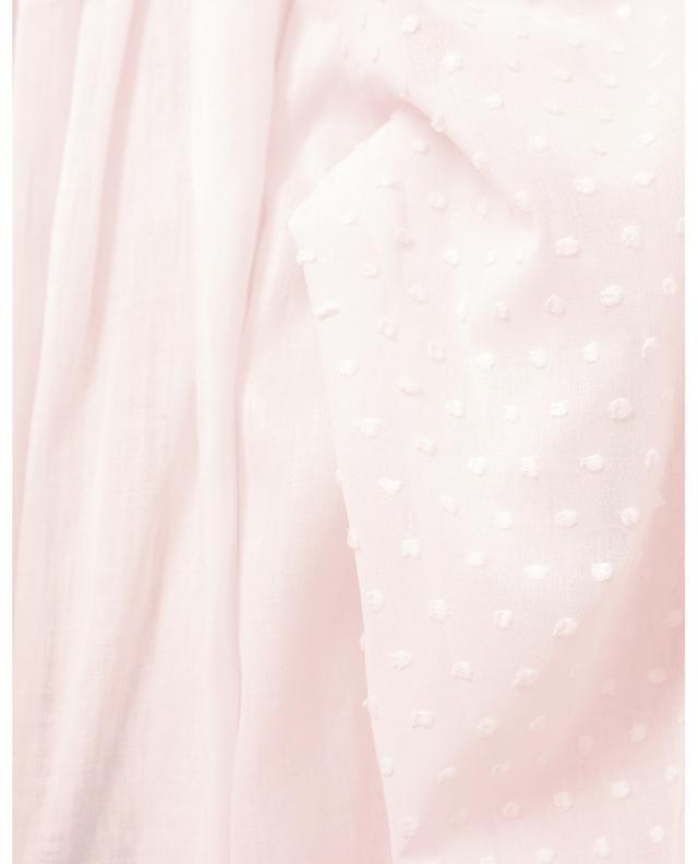 Chemise de nuit à manches bouffantes Ariella-2 CELESTINE
