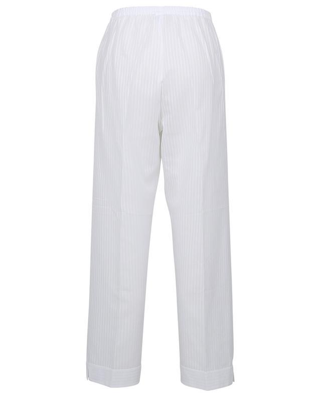 Pyjama en voile de coton rayé Diana CELESTINE