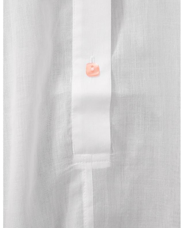 Chemise de nuit en voile de coton brodé Galina CELESTINE