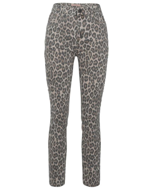 Leopard printed slim fit jeans TWINSET