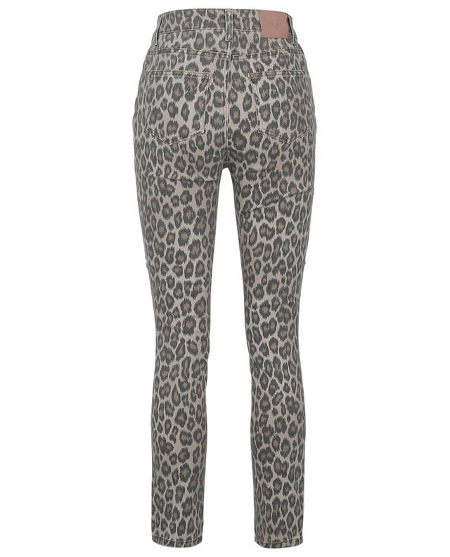 Slim-Fit-Jeans mit Leopardenprint TWINSET