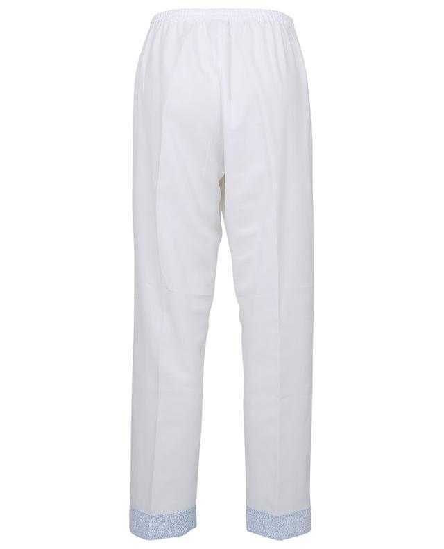 Pyjama en flanelle de coton détail taches léopard Stine CELESTINE