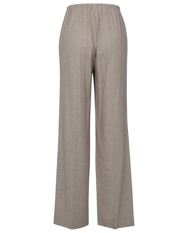 Pantalon à pinces en viscose et laine mélangées VINCE