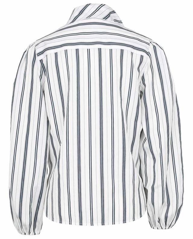 Gestreifte Bluse mit Schluppe und Puffärmeln SEE BY CHLOE