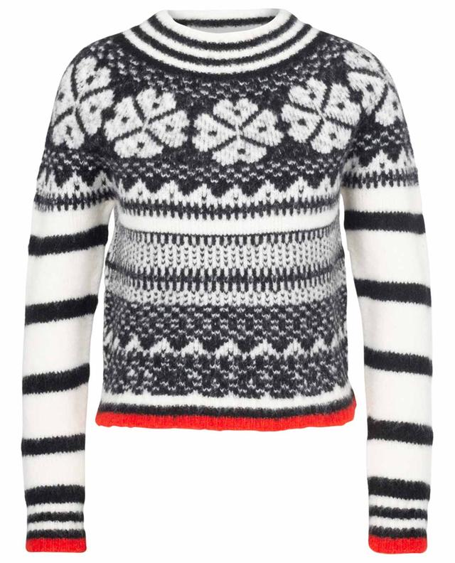 Pullover aus Wollmix Winter Jacquard SEE BY CHLOE