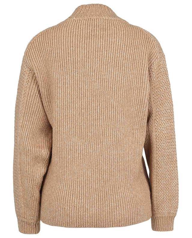 Pullover mit Schornsteinkragen aus Schurwolle und Baumwolle SEE BY CHLOE