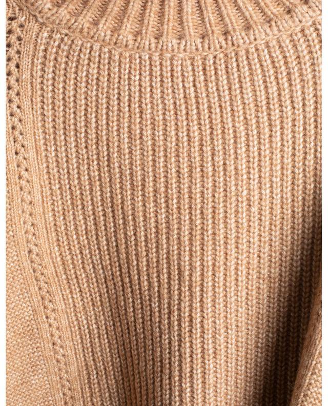 Pull à col cheminée en laine vierge et coton SEE BY CHLOE