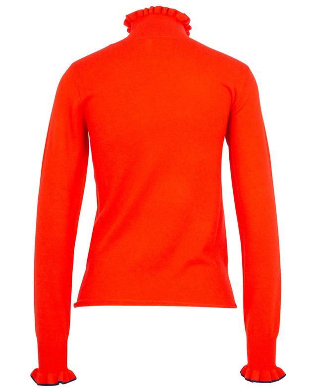 Feiner, schmaler Pullover mit gerüschtem Stehkragen SEE BY CHLOE