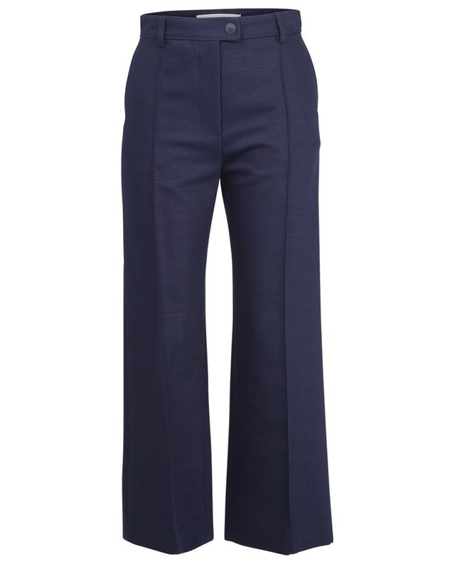 Pantalon taille haute évasé en sergé de laine SEE BY CHLOE