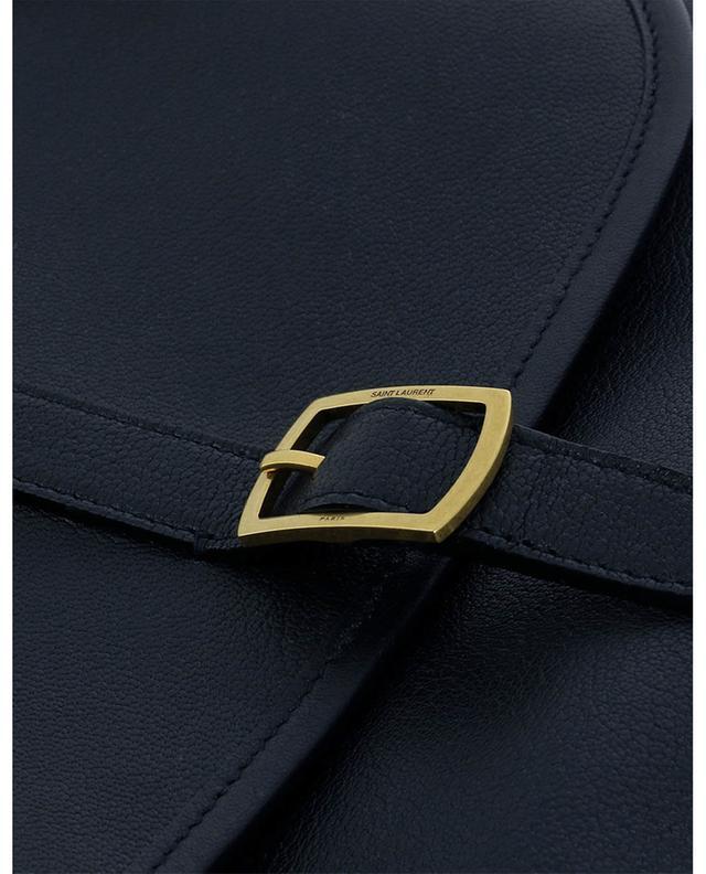 Sac porté épaule en cuir texturé Sorbonne SAINT LAURENT PARIS