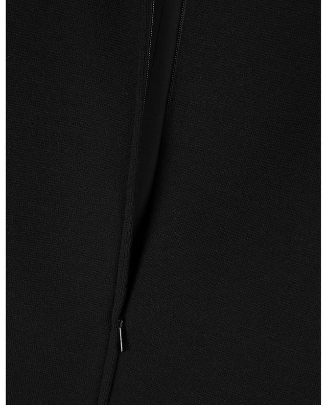Mini robe à manches courtes en laine mélangée SAINT LAURENT PARIS